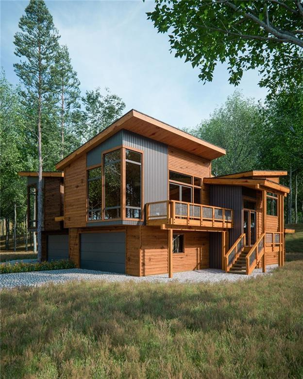 Rendering of the Ridge Twin Cabin