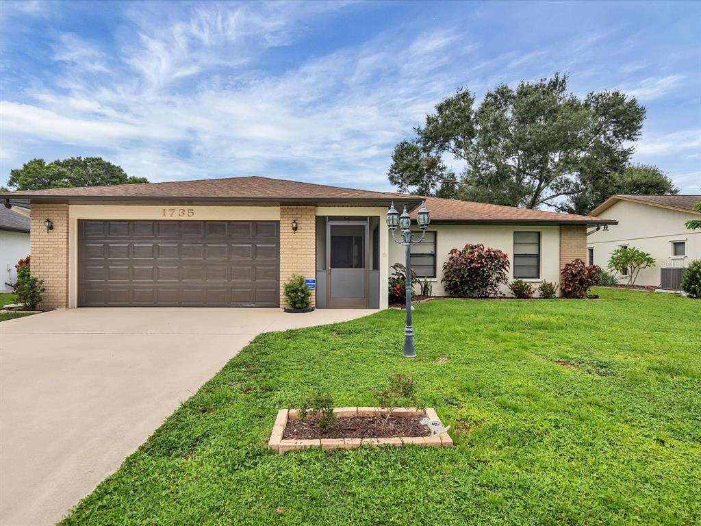 3 Bedroom Home in the Country Pines section of Deer Hollow. Well Maintained Original Owner home near Benderson Lake & Park, UTC Mall & the Meadows. Spacious Living Room, plus Air conditioned Florida Room. Kitchen with all Appliances, Open to Dining Room. Master Bedroom has Sliders to Lanai. 2 more Bedrooms & Guest Bath. Both Front Porch & Lanai are Screened in. Washer & Dryer in Large 2 Car Garage. Exterior freshly Painted. Rear Yard views creek & pond with Fountain and there is room for a Pool! Very low HOA & No Rental Restrictions. 24 Hour Notice to show.