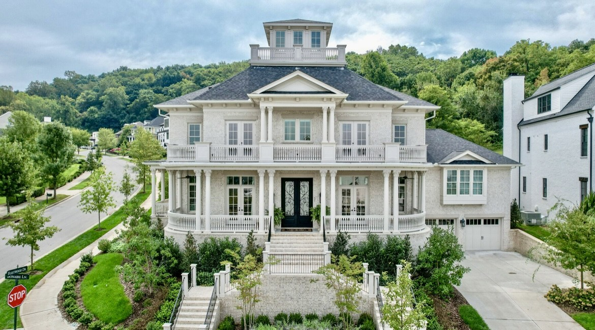 One of a Kind!  Prestigious Westhaven home w/ Amazing views on a corner lot ~ Elevator serves entire home ~ Master Suites on 1st & 2nd floor ~ Handicap Accessible ~ 2 bedrooms on main level ~ Over 1000 sqft of porches ~ 16ft ceilings on main ~ Custom Built by Legend Homes in 2019 ~ Walk in Storage ~Gourmet Kitchen w/ Lacanche Range, Steam Oven, Inset Cabinets, Pot Filler, Double Granite counters, Ice Maker, Wine Fridges & Catering Space ~ Hide a Hose central vacuum ~ Heated Bathtub ~ Bunk Room