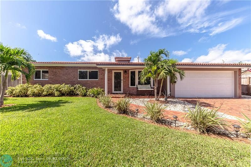 UPDATED & MOVE IN READY KNOLL RIDGE/IMPERIAL POINT AREA HOME WALKING DISTANCE TO LAUDERDALE BY THE SEA. FEATURING A 3/2 OPEN CONCEPT FLOOR PLAN, UPDATED KITCHEN WITH NEWER APPLIANCES, UPDATED BATHROOMS, IMPACT WINDOWS & DOORS, SALT WATER POOL WITH NEWER DIAMOND BRITE & TILE, BONUS UTILITY ROOM, 2 CAR GARAGE, BIG BACKYARD DECK/POOL AREA FOR ENTERTAINING, SCREENED IN PATIO, SOLAR WATER HEATER, UPDATED 200AMP ELECTRIC SERVICE WITH WHOLE HOME GENERATOR HOOKUP, PLANTATION SHUTTERS, CROWN MOULDING, RECESSED LED LIGHTING, BOAT/RV PARKING, LOW MAINTENANCE YARD & LANDSCAPING & MUCH MORE! THIS HOME SITS ON SOME OF THE HIGHEST GROUND IN FORT LAUDERDALE. NO FLOOD INSURANCE REQUIRED! FLORANADA SCHOOL DISTRICT PLUS WALKING DISTANCE TO WESTMINISTER ACADEMY & PINE CREST CLOSE BY.