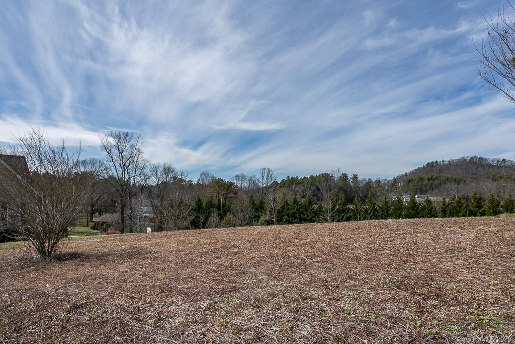 A very peaceful and private community to live in on this level lot with Mountain Views conveniently located just minutes from I-26. No manufactured homes allowed, Modulars are allowed.  Minimum 1500 sq.ft. on the main level, if split level minimum 1800 with 1200 on the main.   Lot has been cleared.