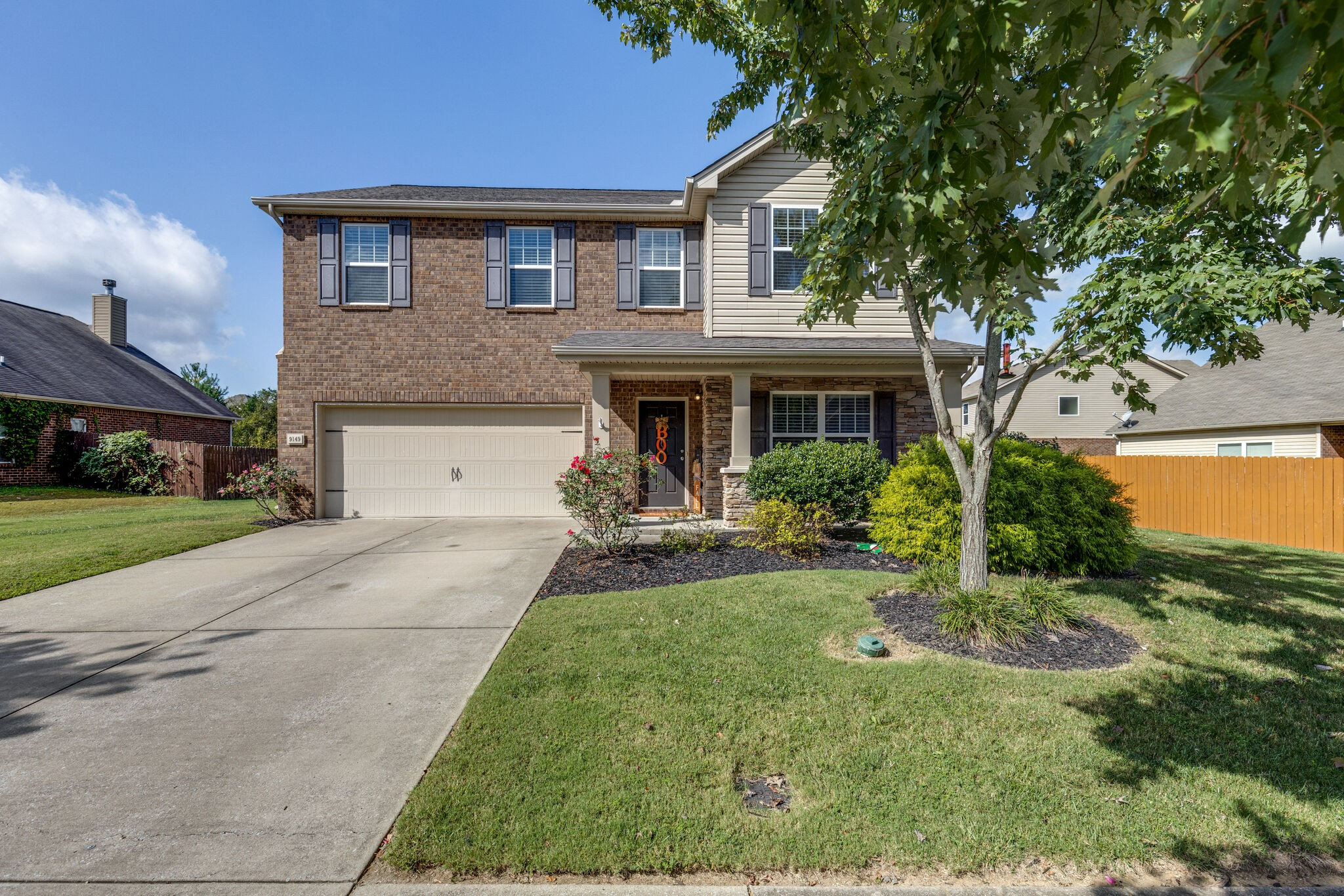 Wonderful family home with tile floors down and stainless steel appliances. Quartz counter tops - super master bedroom - playroom loft - new carpet upstairs. New roof 2018. New HVAC 2021. Move-in ready. All offers due Sunday 10/17/21 @ 5:00 pm. Seller has a right to accept any offer at any time.