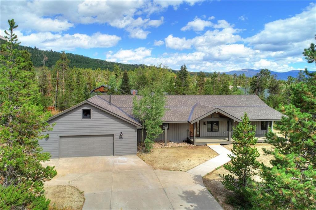 Completely remodeled home in one of the most desirable neighborhoods in Frisco. High end mountain modern finishes & Gore Range views make this home a must see. The remodel nearly doubled the square footage making this home an excellent primary residence or investment property. Large private backyard w/ a perfect patio for a hot tub. Enjoy everything Summit County has to offer from this beautifully updated residence.  Another fine project by Mathison Custom Builders.