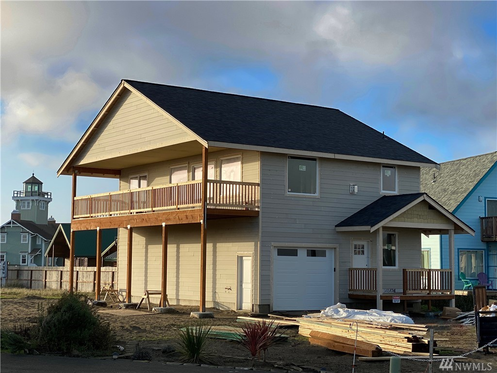 Brand new vacation rental approved ocean view home. This beautiful property is on an extra large lot located on a quiet cul-de-sac and enjoys phenomenal views of the Pacific Ocean and majestic mountains. This property was permitted by the city of Ocean Shores and is located in the right zoning of town to be nightly rented to create a much higher income than the traditional month to month basis. This amazing house comes with granite counter tops, fireplace, ocean view decks, and luxury finishes.