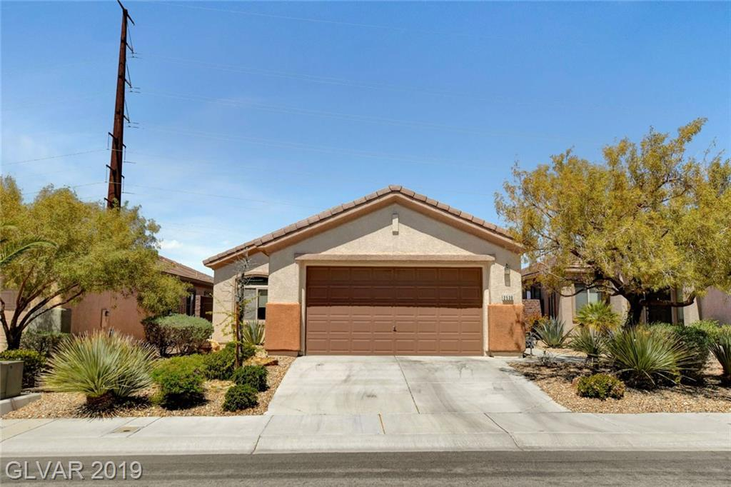 BEAUTIFUL HOME WITH OPEN FLOORPLAN , UPGRADED KITCHEN WITH CORIAN COUNTER TOPS, UPGRADED CABINETS, WHITE APPLIANCES,MASTER BATHROOM HAS DOUBLE SINK FOR HIS AND HERS,HUGE BATHTUB WALK IN CLOSET, SLIDING DOOR TO THE PATIO.UNOBSTRUCTED VIEW OF LAS VEGAS VALLEY FROM THE BACKYARD AREA, VIEW OF SOUTHPOINT CASINO and  M CASINO IN THE PATIO AREA . 2 PARKS THAT  BOAST OF TENNIS COURT, BASKETBALL COURT, BASEBALL COURT, PLAYGROUND., WITH WALKING TRAILS.