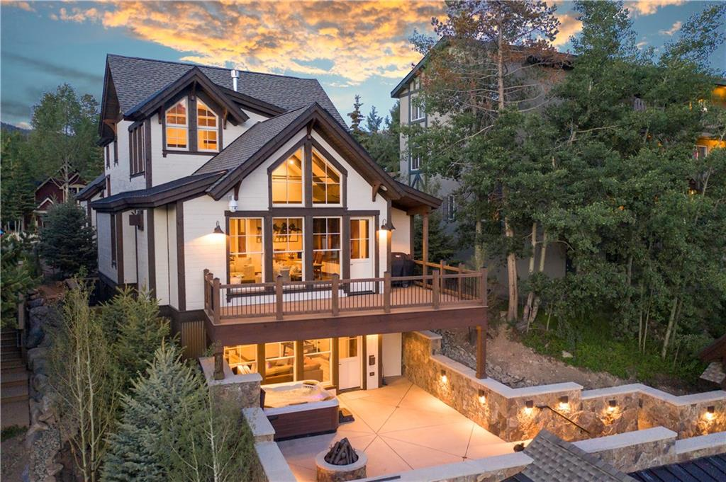 "Undoubtedly the ""Crown Jewel"" of Breckenridge! This new French Street masterpiece has just set the new standard for in-town opulence. Suzanne Allen-Sabo design coupled with the quality of Rockridge Building Company make this home in the Historic District second to none. The ridgeline location offers sweeping views, with cascading outdoor living spaces, a separate carriage house, the latest in finishes and furnishings, an elevator & an enormous 4 car garage. The gondola is only a two minute walk."