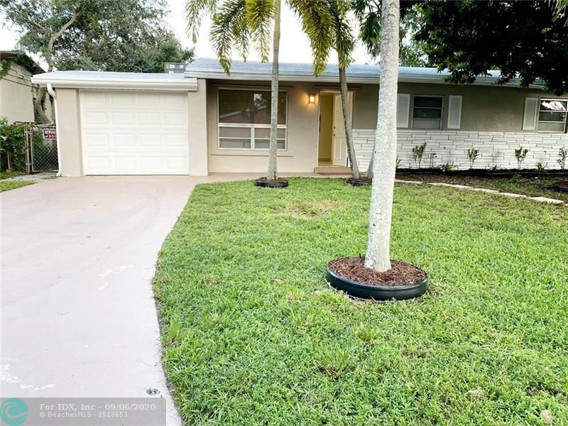Remodeled 3/2 in Dania Beach, just a couple of minutes from the Hard Rock! Kitchen is new with granite counter top and back splash, and recessed lighting throughout. The florida room with AC unit , can be used as a sun room, bedroom, office space, family room, what ever suits your family size best, one car garage, and great  back yard space! AC was installed in 2019, and roof was installed in 2018! This place is move in ready!
