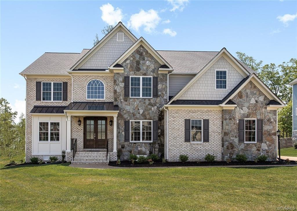 """LOCATION, LOCATION, LOCATION!  Just 3 miles from Short Pump Town center, Estates at Grey Oaks is an established community with easy access to I-295 and I-64 from Nuckols rd.  This NEW plan by Bradford Custom Homes has it all! The """"Cascade"""" plan was designed for today's living with several flex spaces. First floor guest room, PLUS private study with French doors. Spacious Designer Kitchen. Morning room opens to beautiful screened porch. Elegant brick exterior. Beautiful double Mahogany front doors. PLUS an additional 800 sq.ft. that can be finished as a 3rd floor guest suite and game room. Energy efficient appliances, Rinnai Tankless water Heater, Low-E windows, Full Sod & Irrigation and much more! Enjoy all the amenities of the Estates of Grey Oaks – Pool, Splash zone, Tennis and more! Still time to make your own selections!"""