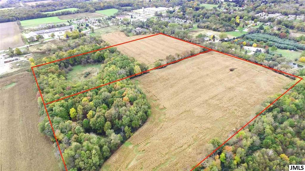 INCREDIBLE 40 ACRE DEVELOPMENT OPPORTUNITY IN POPULAR WESTERN SCHOOL DISTRICT. Cleared & level landscape with an outstanding potential for Mixed Use/Multi-family Residential development. Located in the heart of Spring Arbor, home of renowned Spring Arbor University & between M-60 & King Roads. This ideal location is approximately 2 miles from Western High School & 1 mile from Bean & Warner Elementary Schools. Dearing Road is in a highly desired area of residential subdivisions, apartments, office and retail properties plus only minutes to I-94 for commuters. Over 1326 Feet of Paved Frontage. Natural gas, community water and sewer lines are available for connection at the road. Seller has preliminary plans for up to 99 residential dwellings. Let new homeowners explore the Failing Waters paved recreational trails for biking, walking & running with easy access. Additional 2.63 acres adjacent land potentially available with building that could serve as sales office & frontage on M-60. Curr