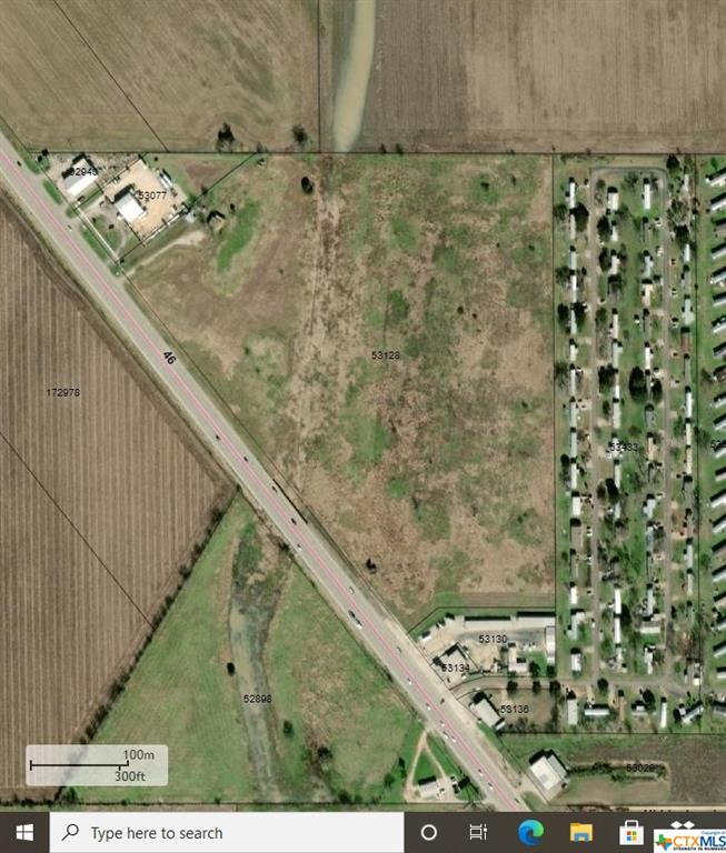 OVER 1300' FRONTAGE ON HWY 46!! Tons of potential and multiple use options. This is 33.76 acres of the 36.339 acres which does not include the building and 3.36 acres of the north portion of the property. A new survey is being done. Nearly 25k vehicles pass this location daily!! This property has two wells and city sewer line is present with three taps for access.