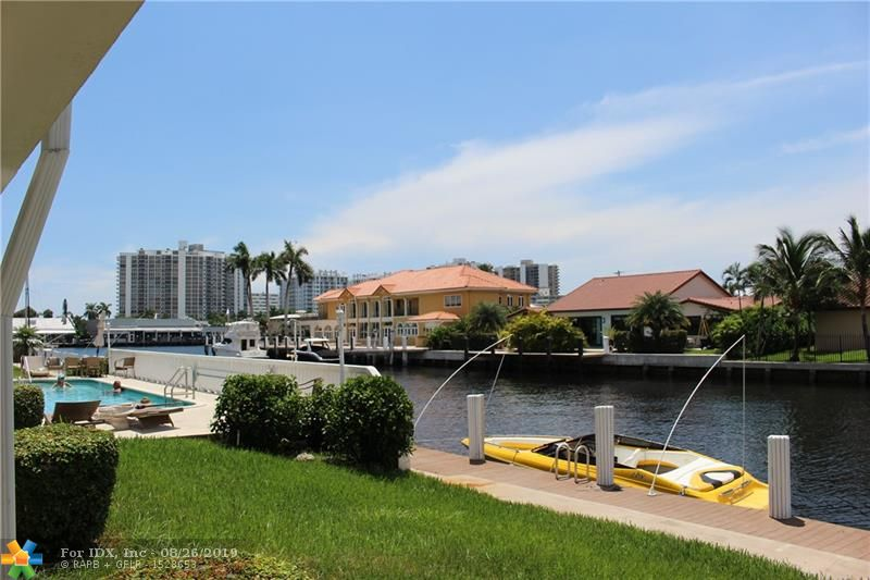 Rare! Ground Floor Entry - Single Level - 2 Bedroom / 2 Bathroom Co-Op unit with Direct ICW views!  Amazing Location - Just off Bayview Dr, West side of the ICW - just South of Oakland Park Blvd.   Priced right to allow for an interior renovation and still have equity.  This unit will need cosmetic work.  Community Pool.