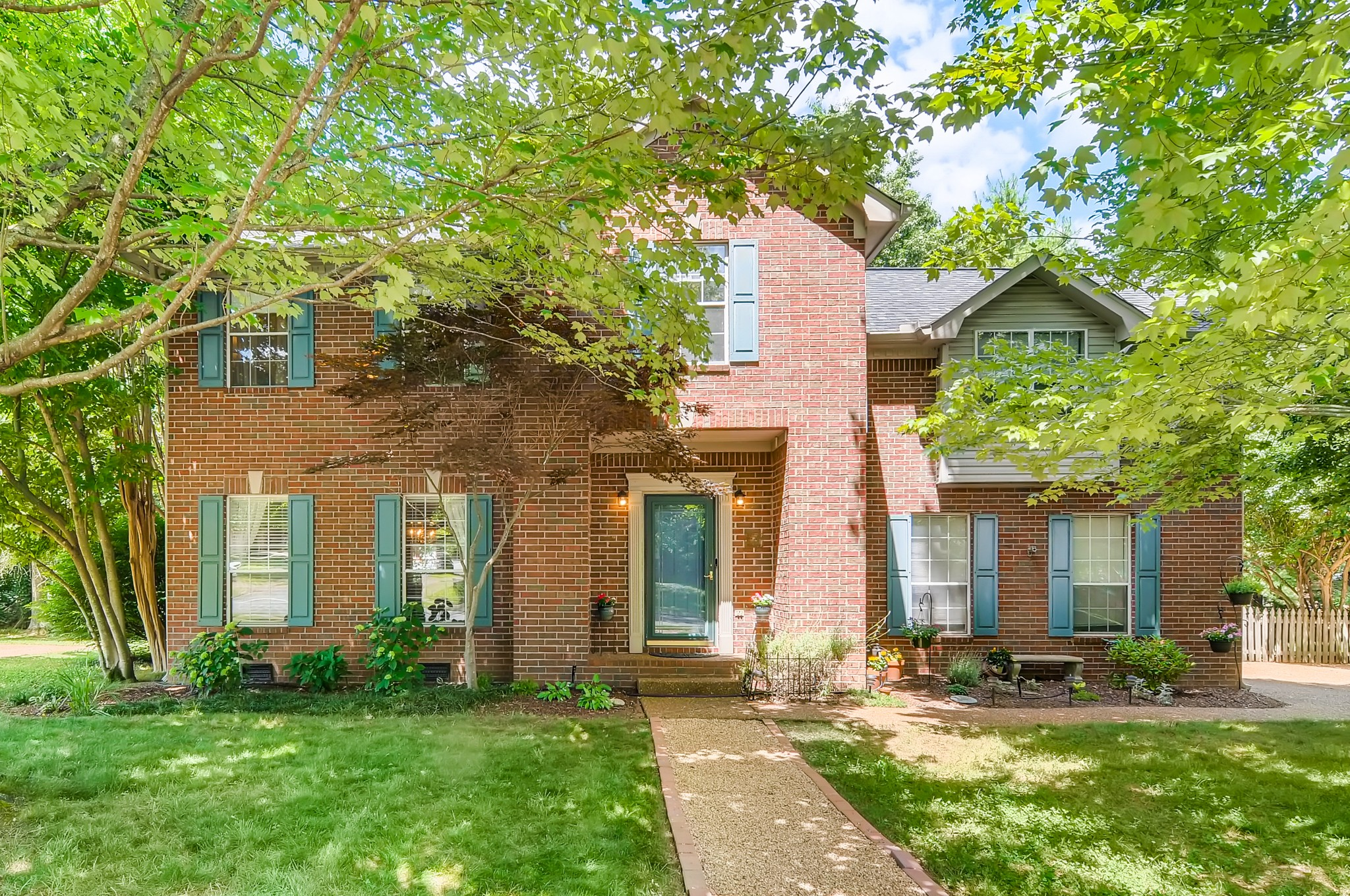 3 bed/2.5 bath in a small, friendly neighborhood - Hardwoods throughout - 19x19 2 level wood deck with jacuzzi and fenced in backyard - New roof 2018 - Close proximity to downtown Franklin & Cool Springs. First showings at noon on Friday, July 17