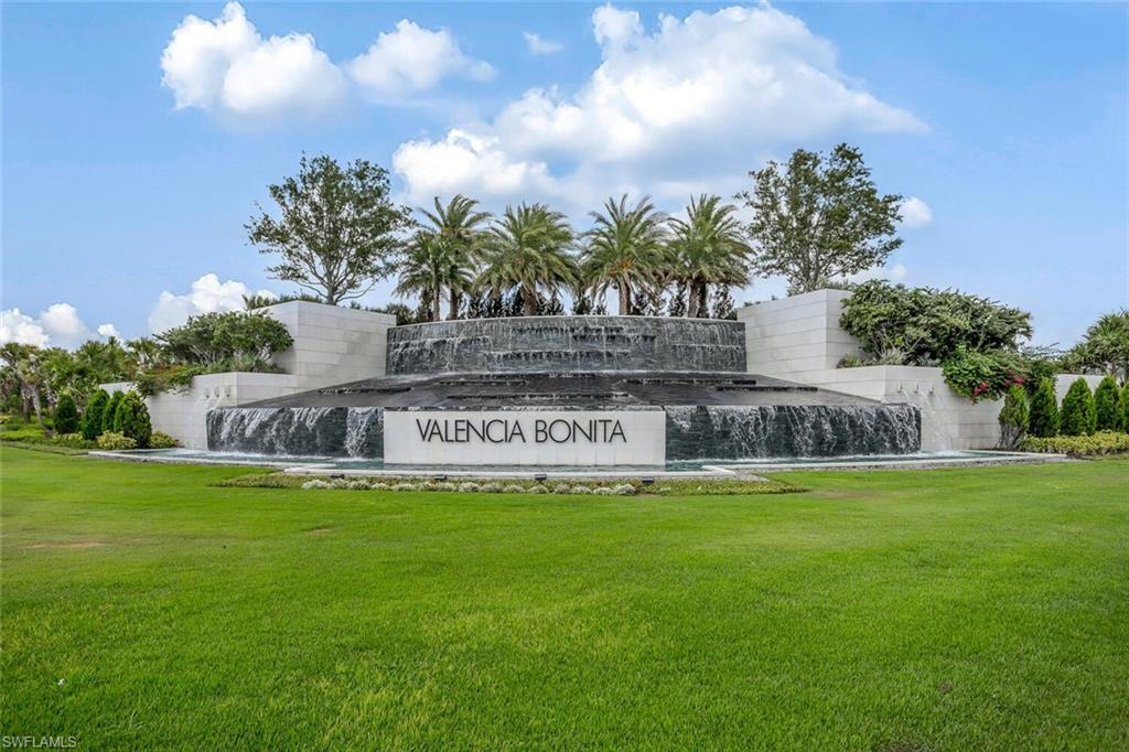 Why wait to build or sit on a waiting list for a year to only hear your name not called.  Stunning lakefront villa in Valencia Bonita. This York floor plan is the largest villa offered in the community. Built in 2019 with nearly $80K in builder/personal upgrades.  Features include cortz countertops in kitchen and bathrooms, 48 inch kitchen cabinets with lighting, 24 inch porcelain floor tile, whole house water filtration system, added drinking water filtration system to utility sink, custom wainscoting walling in family room and master bedroom, custom drapery in dining room and master bedroom, ship lap tray ceiling in master, electric roll down screen for rear lanai.  Beautiful open floor concept perfect for entertaining guest.  Enjoy the peaceful southern rear exposure from your spacious rear lanai. Valencia Bonita's amenities include a spectacular 45,000 square feet Clubhouse, resort pool, large fitness room, tennis, pickle ball, and a busy social events calendar in this 55+ community.
