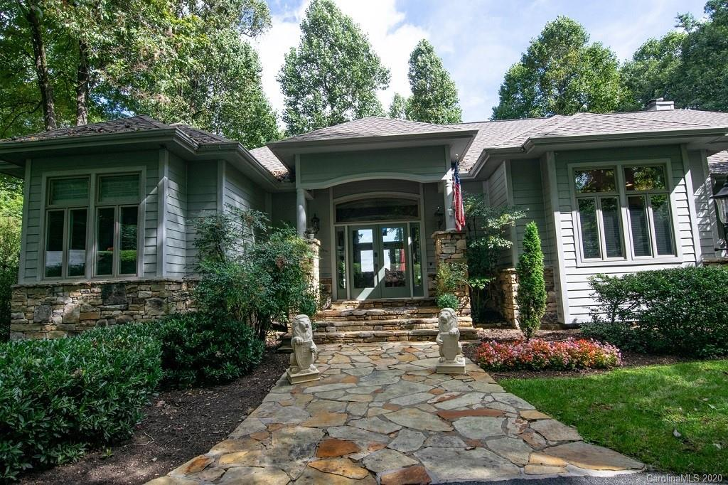 Panoramic long-range mountain views and timeless architecture make this mountain-top, prime location Kenmure home special and unique. This home is updated and offers an open floor plan, fantastic kitchen layout with gas cooktop, formal dining room, split bedroom plan, stately office/study and expansive master bedroom and bath suite. Lower level offers a full guest suite, family room, media room and best-in-class wine cellar that rivals the experience you would find at the finest vineyards. The Kenmure community offers golf, indoor/outdoor pools, fitness center, tennis, pickle ball and a full calendar of social events.