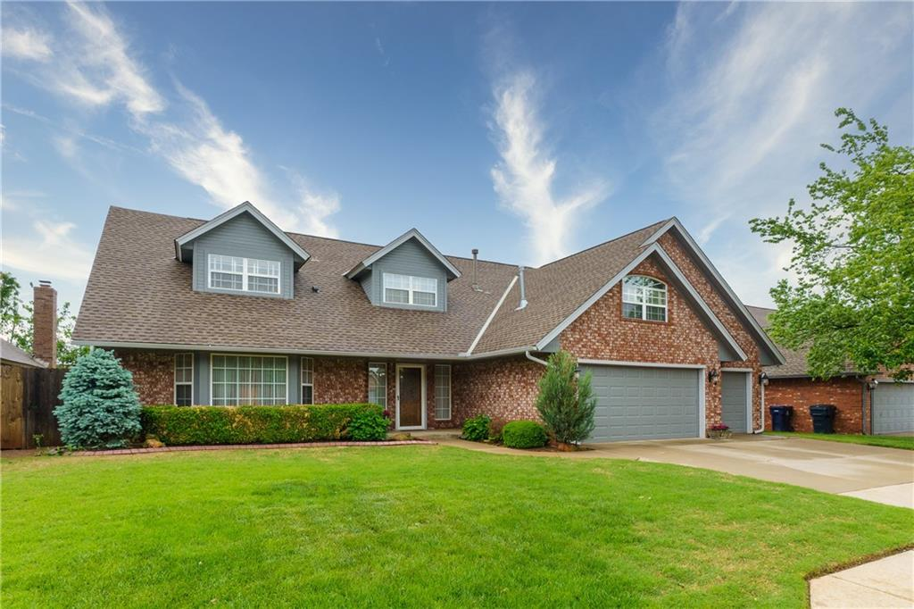 OPEN HOUSE Sunday, May16th 2-4PM A MUST SEE!Beautifully maintained &move in ready! Entry &Family Room open to 2nd floor Staircase Landing which lends to a feeling of openness. The 19x18Family Room has Fireplace w/gas logs, builtin BookCase. FormalLiving 19x11. BONUSRoom 15x14, upstairs currently used as Bedroom& could be Media/GameRoom &has large closet &builtin desk. 13x11 Kitchen features center island w/cook top, above cabinet lighting, dbl ovens, pantry w/custom storage & trash compactor. MainBedroom 17x15on first floor w/access to backyard.  2additional upstairs bedrooms: SEBedroom12x11 with 7x7Reading Nook, SWBedroom 14x11.Upstairs Office 7x6w/custom built-ins . Abundant storage(closets everywhere)& 18X12Floored walk-in AtticStorage . Custom deck20x13 w/builtin seating. Interior LaundryRoom8x5. BackyardShed on concrete pad. Neighborhood pool, Playground, BasketballCourt &covered Picnic Area just blocks away. UPDATES 2021Exterior Paint,2018 HVAC top zone,WaterHeater,2014Dishwasher