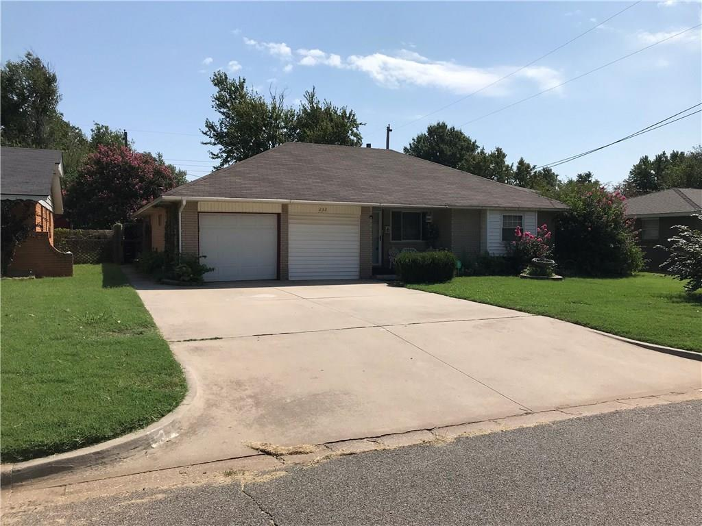 Well maintained home, large add on Den with gas fireplace, Master has half bath and walk-in closet, Inside utility room, Storage buildings in backyard, Newer vinyl windows, roof replaced 2016, 1 side of garage partially converted (not included in SQFT) to work area/pantry/storage, could easily be converted back, Great value!
