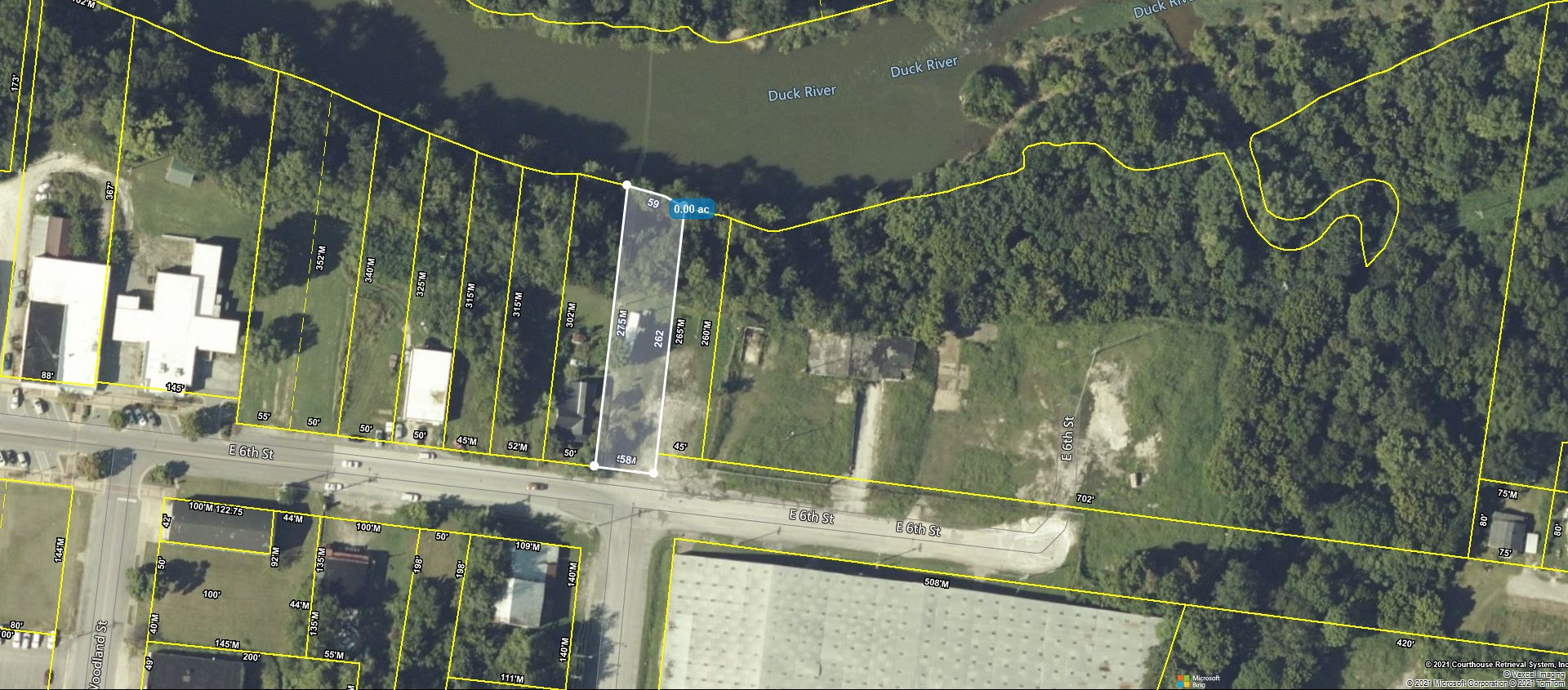 SITE CONSIST OF: 219 E 6th St & 301 E 6th St. Map & Parcels: 099A A 009.00 & 099A A 008.00 Downtown Columbia Re-Development Site. .6 of an acre in downtown Columbia ready to be developed into office, retail, or live/work project. Walking distance from the downtown business district of Columbia. Create an office or two level building with great views of the Duck River!!