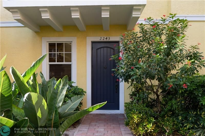 Meticulously maintained spacious 3 bedroom 3 full bath Belle Isle townhome in Central Wilton Manors with 1,880 sq. ft of under air living space. Property features include private entrance, open layout, and kitchen with granite counters and stainless steel appliances that opens to the main living area. Enjoy the out of doors from your private balcony overlooking the tropically landscaped pool area. First floor space perfect for home office, gym or other living area. Master bedroom with walk in closet, en-suite bath with spa tub and stand-alone shower. Washer / Dryer on same floor. Entire property freshly painted. Two car garage with epoxy floor. Close to everything important, dining, shopping. Belle Isle Townhouses is a pet friendly community. Some virtually staged photos included.