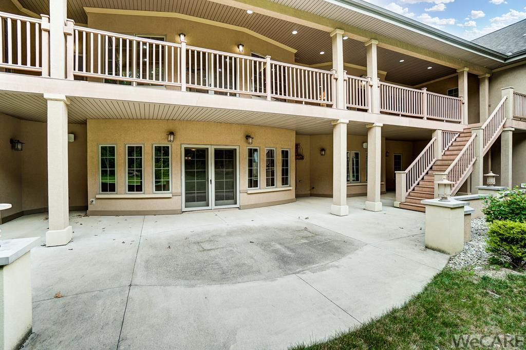 Back Balcony and Covered Patio