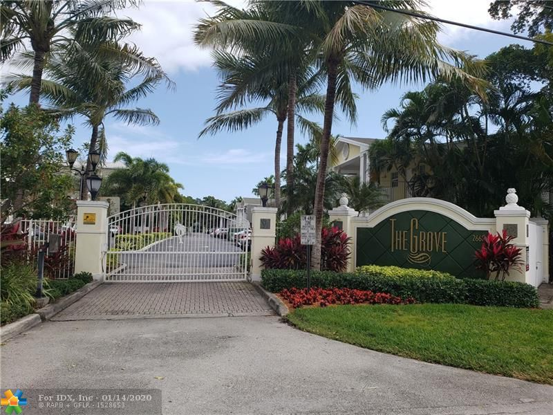 Wonderful Wilton Manors Investment. 2 bedroomm 1 bath 1st floor unit. Can Rent immediately and Pet Friendly. Walk to all that Wilton Manors has to offer. 1 Block off the Drive. Heated pool and clubhouse. Well Maintained complex. Assigned parking and guest parking. Up to 2 pets allowed per unit. Granite Kitchen. Tiled floors. Only unit available. This will go fast. Call for showing. Currently  Tenant occupied. Tenants may wish to stay for new owner