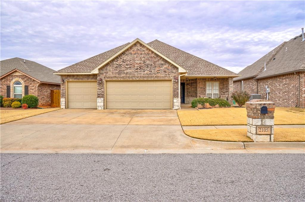 Walk into an open floor plan with a large kitchen that is equipped with stainless steel appliances, granite counter tops, and a large island with bar stool seating! Throughout the rest of the home you will find granite countertops, tile, carpet, and wood floors in the office! There are so many UPGRADES in this previous model home including energy efficient spray foam insulation in attic and outer walls of home, home entertainment set up with full surround sound and speakers in master bed, study, living room, and patio! Come see this home before its gone!