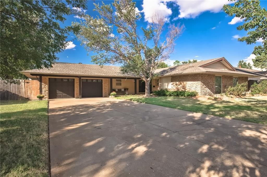 HOW DO YOU SPELL MOTIVATED?  $30,000 PRICE DROP ON THIS SINGLE LEVEL GEM WITH FABULOUS INGROUND POOL WITH WATERFALL AND SPA.  IF YOU LIKE THE PICTURES, YOU'LL LOVE IT IN PERSON!!  NOTHING LIKE IT AT THIS PRICE IN NICHOLS HILLS.  A previous owner converted this home from three bedrooms to two.  Need more bedrooms? Per the City of Nichols Hills lot coverage calculations, adding 1,400sf +/- of living space is permittable. 1611 Drakestone Ave. should exceed the expectations of your pickiest buyer.  Recent updates include new shaker style kitchen cabinetry with all soft close doors/drawers, high-end backsplash, quartz countertops, stainless steel appliances, new wood-look floors (very pet and kid resistant) in all living areas and kitchen, designer paint colors throughout and new high-end carpet in the bedrooms.  New roof in 2018, and HVAC was replaced and moved overhead in 2021.  In addition to the fabulous pool, outdoor living includes grilling area and wood burning fireplace.