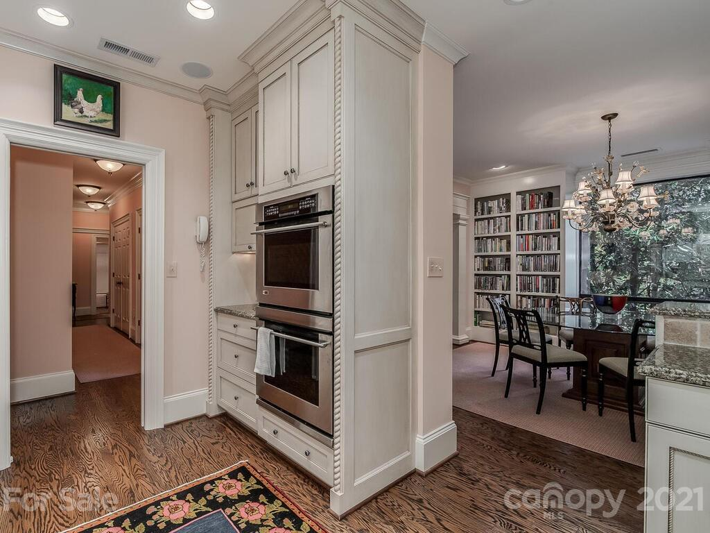 2 bedroom -2 bath condo in convenient Eastover * Private end unit * Award-winning renovation by architect Don Duffy and Whitlock Builders (2005) * Open floor plan * Hardwood floors throughout * Custom millwork, cabinetry and shelving throughout * Custom kitchen & baths * Move-in condition *