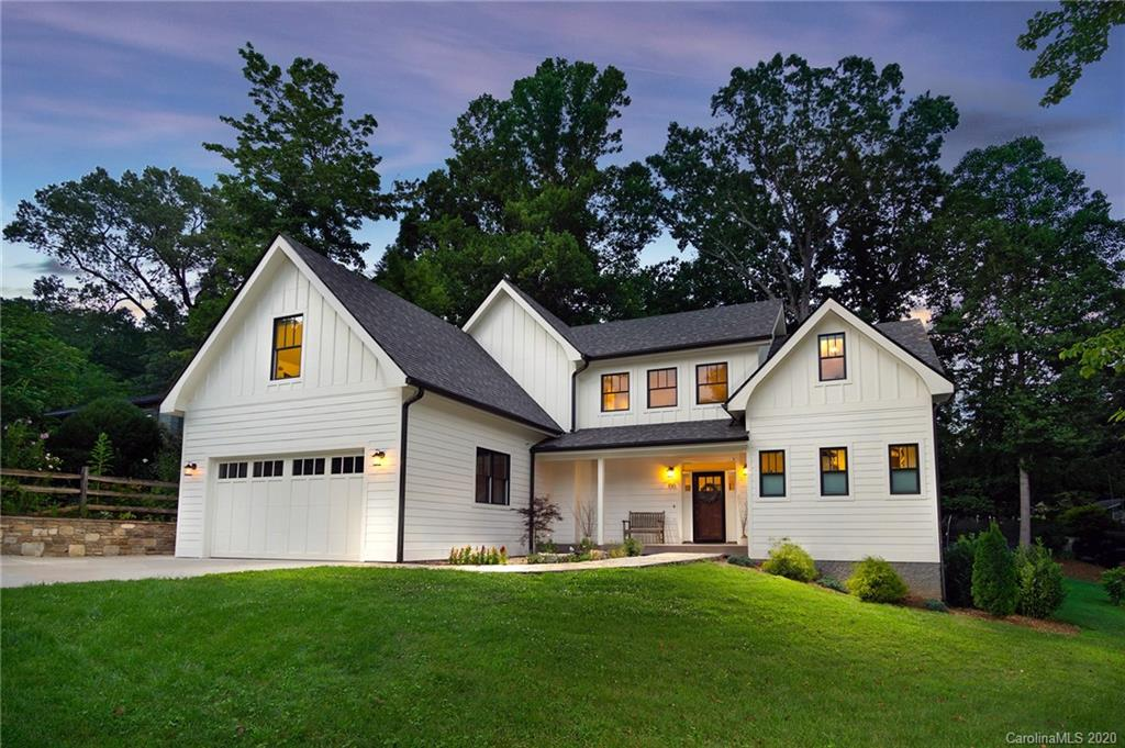 Incredible arts and crafts/farmhouse style home just a stone's throw from downtown Black Mountain! Energy Star Certified and Green Built NC Silver rated! The open concept main living area features a gourmet kitchen with huge kitchen island, generous dining area, floor-to-ceiling stone fireplace (wood-burning), and beautiful hardwood floors. Large master suite with tile shower and walk-in closet on the main level. 2nd floor has a large second master suite for guests, 2 additional bedrooms and a full bathroom, plus a bonus room with a huge walk-in closet or office attached to it. There is lots of natural light, upscale finishes throughout, and plenty of room for guests or holiday gatherings. This home is in immaculate condition inside and out and has a flat, usable back yard! Just a quarter mile to the heart of downtown. There are very, very few homes of this quality and condition in the heart of Black Mountain. Seller would be very interested in a lease-back period.