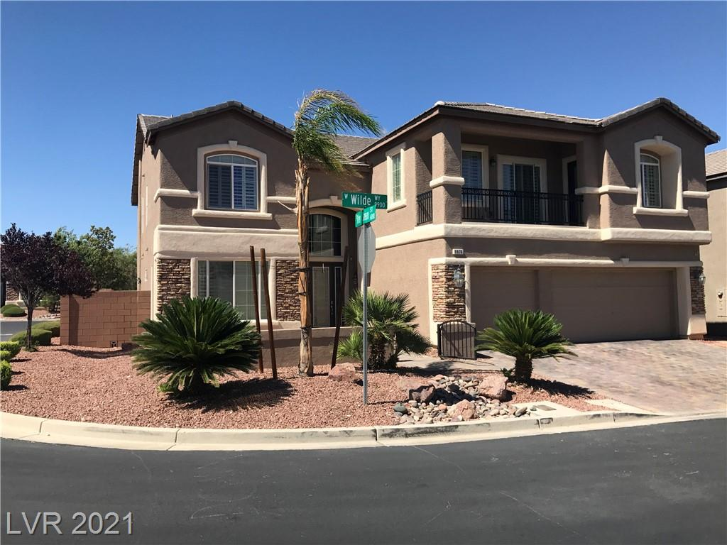 Amazing , semi custom Home in Stetson Ranch , Fully Optioned , Pool, Spa, Strip and Mountain Views, Corner Lot