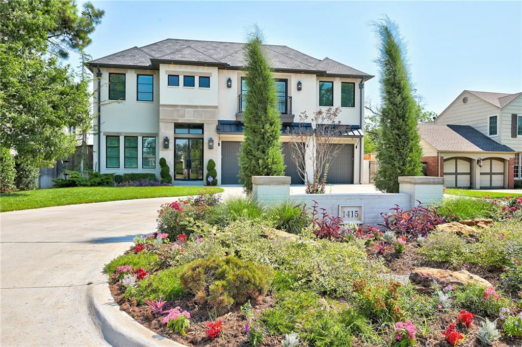 Stunning custom home built in 2018 by Capstone Estates located in the exclusive community of Nichols Hills. Highly sought after location just steps away from Nichols Hills Plaza and Kite Park. Beautifully designed with an open floor plan, high ceilings, circle wet bar and a picturesque outdoor setting, perfect for entertaining. This 4 bedroom, 4.2 bathroom home has a full 3 car garage with circle drive and a gorgeous master suite on the first floor with a dream master closet. The upstairs is perfect for families with an expansive game room, wet bar, theatre and an extra space that could be used as a gym, guest room or for additional storage. This home has it all and is a rare find in Nichols Hills. Call for an appointment today!