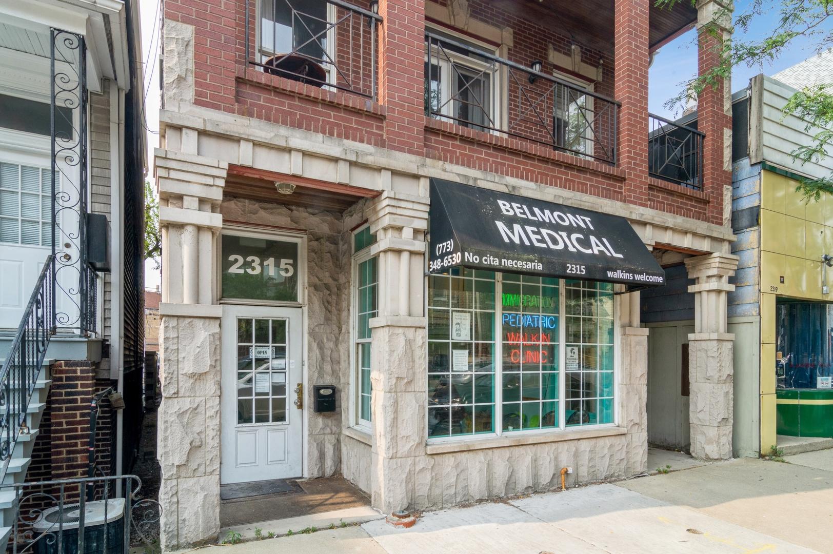 2315 W Belmont Avenue, Chicago, IL 60618
