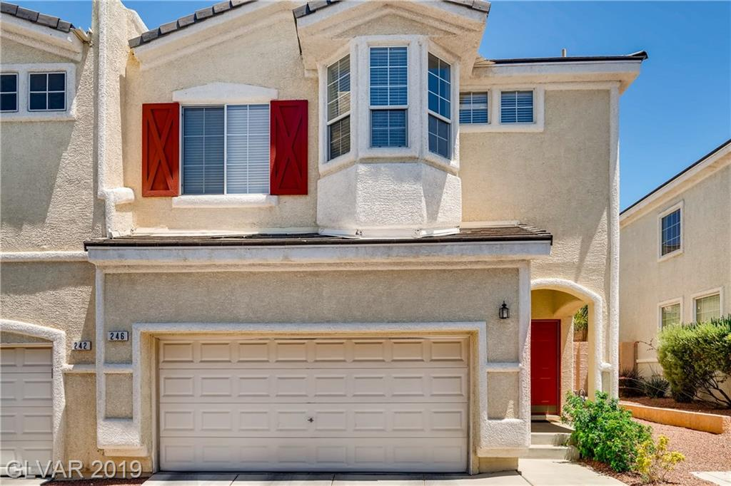 GREEN VALLEY RANCH! Guard gated town home community just steps away from the world class dining, shopping and entertainment of Green Valley Ranch Casino. 3 Bedrooms plus a loft/office/den. Community features 2 parks, direct access to trails, guard gate and pool. All appliances included.