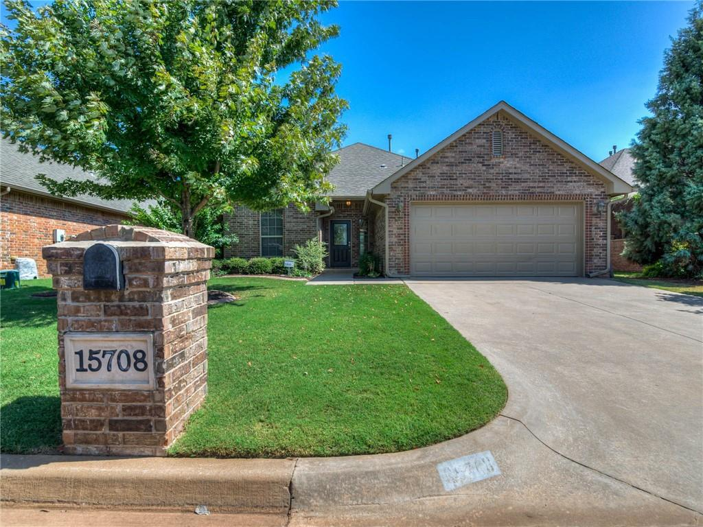 Lock and Leave Lifestyle just minutes away from Costco and the turnpike! You are going to love the light, bright open feeling of this immaculate home in the gated neighborhood of The Traditions. No need to bring the lawn mower, lawn care is covered by the HOA. Enjoy the East facing, covered back patio looking out to the former golf course turned greenbelt and all the walking trails! Inside is a large, open kitchen with granite and beautiful woodwork.The eating area is large with big windows looking out to nature. Enjoy the spacious rooms, the new carpet, new exterior paint and the warm and friendly neighbors.The home has great storage, a large master suite with walk in closet, a fire suppression system and whole house water filter! Everything you need is here! Come see! Realtor related to seller.