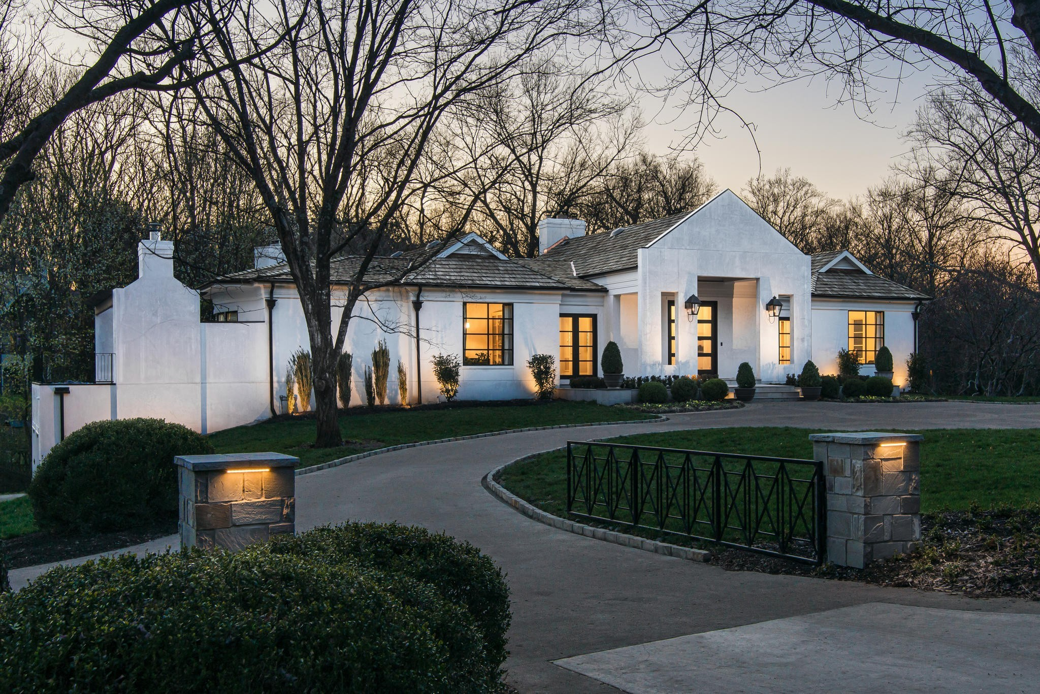 Spectacular Belle Meade Estate nestled on 1.23 Aces. This newly renovated five bedroom home is one of Nashville's most luxurious homes in Nashville's most exclusive neighborhoods. New Venetian Plaster Exterior with Cedar Shake Roof. New European Kitchen Cabinetry with new Miele Appliances. All new Pella windows and doors. Pool approved and construction process underway. Wine Cellar and Safe Room. Four car garage with tons of storage space. Fully encapsulated crawl space.