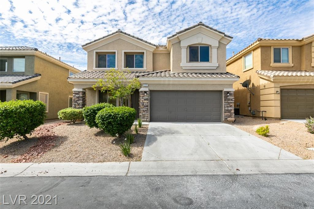 """FULLY REMODELED RHODES RANCH HOME!! OVER THE TOP UPGRADES INCLUDING NEW WHITE SHAKER CABINETRY W/ DESIGNER HARDWARE, DESIGNER WOOD PLANK LUXURY VINYL FLOORS, 5"""" BASEBOARDS THROUGHOUT, OVERSIZED ELEGANT MASTER SHOWER W/ CUSTOM CARRARA TILE, BRAND NEW STAINLESS STEEL APPLIANCES, HAND PICKED FIXTURES AND FAUCETS, HIGH END DESIGNER LIGHTING PACKAGE, FRESH INTERIOR AND EXTERIOR TWO TONED PAINT, BRAND NEW CARPET IN THE BEDROOMS, AND CUSTOM LED SHIPLAP FIREPLACE WALL! PRIVATE BEDROOM DOWN STAIR WITH FULL BATHROOM DOWNSTAIRS!!! FULL LENGTH COVERED BALCONY OFF OF MASTER RETREAT!!  TURN KEY AND READY TO MOVE INTO!!"""