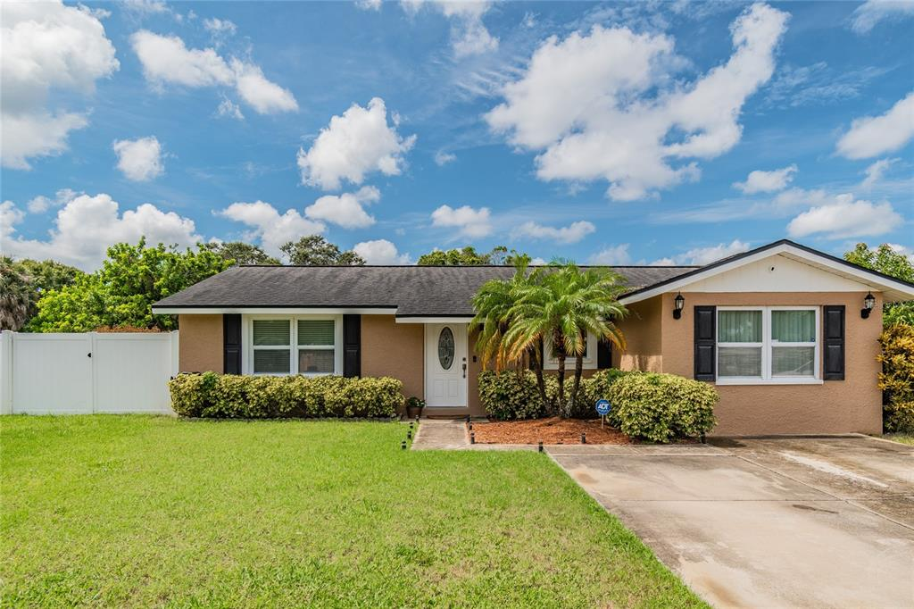 This is Truly a move in ready 4 bedroom 2 bath POOL Home located less than 10 minutes from Indian Rocks Beach.  The entire property has been meticulously cared for by the owners.  Some of the highlights: New Solar Panels (Typical electric bill per month $20!), Newer Samsung high-end appliances, New A/C, New Water Softener, New Water Heater, New Attic Insulation, Granite Counter Tops, Upgraded Windows, Fully Fenced Backyard, Newer variable speed pump for Pool, Large rear deck tied in to the Pool, Large storage building in the back with electricity.  Owners also have a green thumb, there are numerous fruit trees in the backyard fully enclosed by a privacy fence for you to enjoy.  Garage was converted to 4th bedroom, permitted and is reflected in county records.