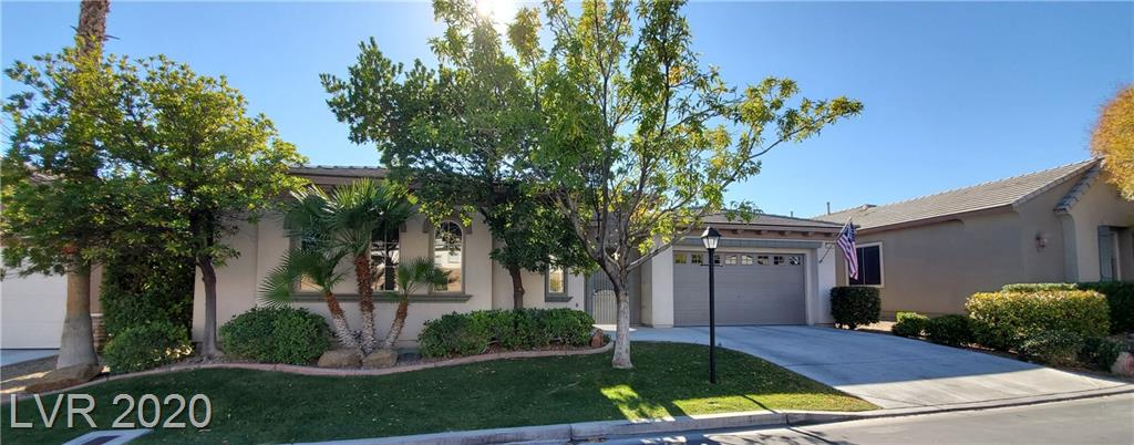 Rare Find! Large Single Story four-bedroom home in the highly desirable and gated Gardens Community in Summerlin. The owner has just completed a remodel of the home to include new carpet, fresh paint throughout, and Epoxy floors in the garages. Near Downtown Summerlin, parks, and walking trails. Easy access to I-215 at Town Center.