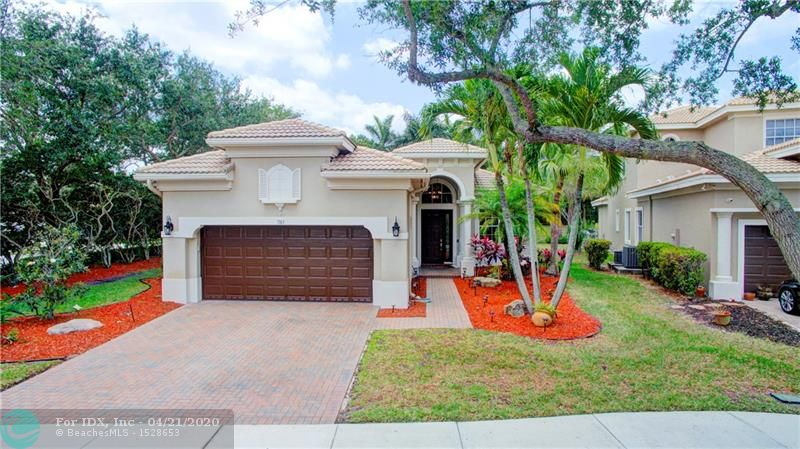 Best Deal In Heron Bay Parkland Home! Fully Upgraded & Best Deal In Heron Bay! Former Model Featuring 3 Beds, 2 Baths & 2 Car Garage On Corner Lot. Polished Marble Floors w/Marble Inserts In Living Areas, Real Wood Floors In Beds. Crown Molding, Volume Ceilings & Designer Window Treatments. Gourmet Kitchen w/Cream Wood Cabinets, Granite Counters, & Stainless Steel Appliances Overlooks Family Room & Breakfast Nook. Master Suite w/French Door Entry, His & Hers Closets, Bath w/Marble Tub & Shower, Dual Vanity Sinks. Master Suite Has Sliding Glass Door To Screened-In Patio, Which Overlooks Fenced-In Yard & In-Ground Heated Spa. Enjoy Guard Gated Community w/Resort Style Amenities & A-Rated Schools. HOA Includes High Definition Cable, High Speed Internet, Home Alarm, Lawn Care & Sprinklers!