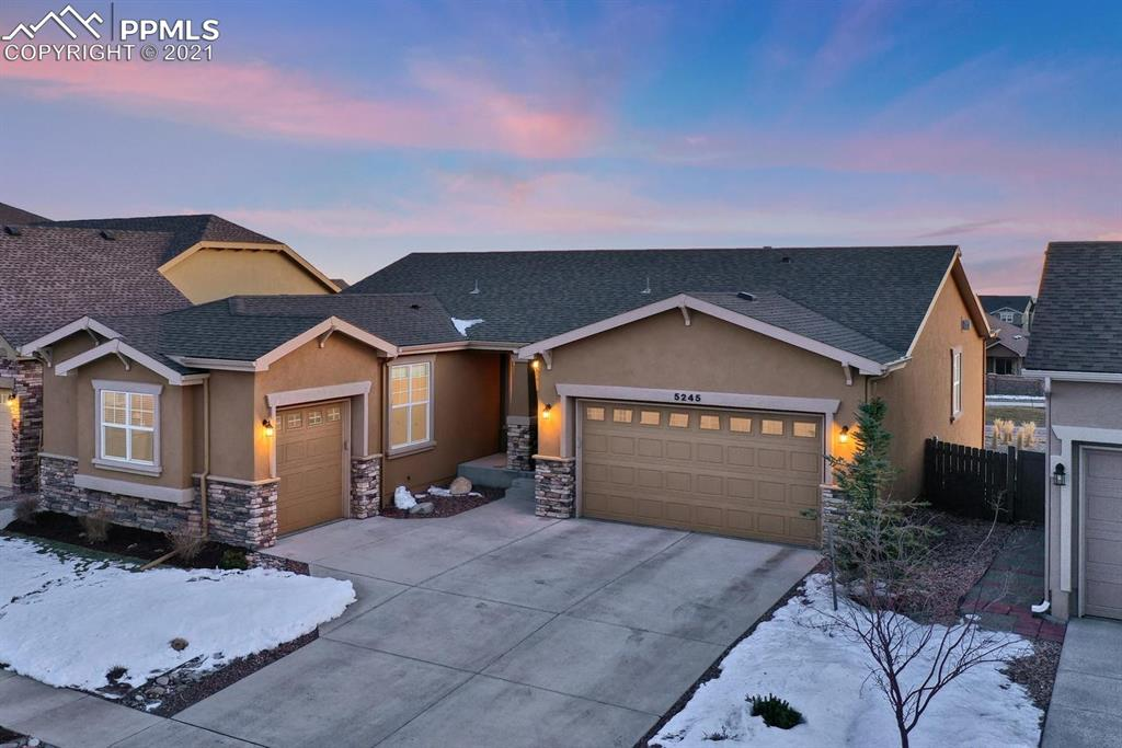 Stunning Front Range & Peak Views~D20 Stucco Walkout Rancher~Cordera Cul-De-Sac Lot~Open Floor Plan W/Great Light~Hardwood Floors thru Most of ML~Lots of Storage~DR Opens to Great Rm & Gourmet Island Kitchen w/SS Appl~Walk-Out Nook to Covered Deck~Great Rm w/Gas-Log FP~ML Front BR~Shower Bath~ML Laundry~ML MBR has FP & 5pc Spa Bath~Walk-Out Bsmt w/Lg Rec Rm, 3 BRs/Full Bath~A/C, Pre-Plumbed for Wet Bar & Sur Sound~Terraced Yard w/Extended Patio~ Holiday Lights Package~Close to Parks, Schools, Rec Center w/Pool & Gym.