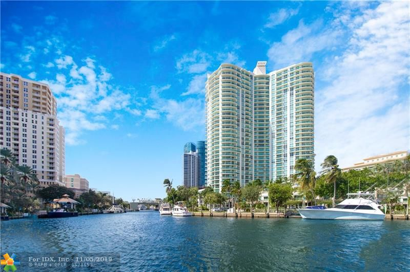 ** MOTIVATED SELLER** PRICE REDUCTION**BEST BUY IN THE BUILDING** FABULOUS 3 BR-2BTH 24TH FLR END UNIT WITH PANORAMIC VIEWS OF THE NEW RIVER, OCEAN, CITY, PORT EVERGLADES & SUNSETS. SPACIOUS GOURMET KITCHEN WITH EUROPEAN CABINETY & UPGRADED S/S APPLIANCES. NEW A/C IN 2016, IMPACT GLASS, NEW HUNTER DOUGLAS SHADES/BLACK-OUTS IN THE BEDROOMS, NEW WASHER & DRYER,CUSTOM BUILT-OUT CLOSETS IN ALL BEDROOMS, 2 BALCONIES W/EAST & WEST EXPOSURE. MASTER BATH FEATURES DUAL SINKS/VANITIES & SPA FIXTURES IN BOTH BATHROOMS. WATERGARDEN IS A FULL-SERVICE BLDG W/5 STAR RESORT-STYLE AMENITIES INCLUDING: HEATED POOL, SPA, SAUNAS, BARBEQUE AREA, BILLIARDS, 2 LEVEL FITNESS CTR, CLUB ROOM, MEDIA ROOM, BUSINESS CTR, 24 HR SECURITY & VALET. PET-FRIENDLY BLDG - 2 PETS PER UNIT. JUST STEPS FROM LAS OLAS BLVD.