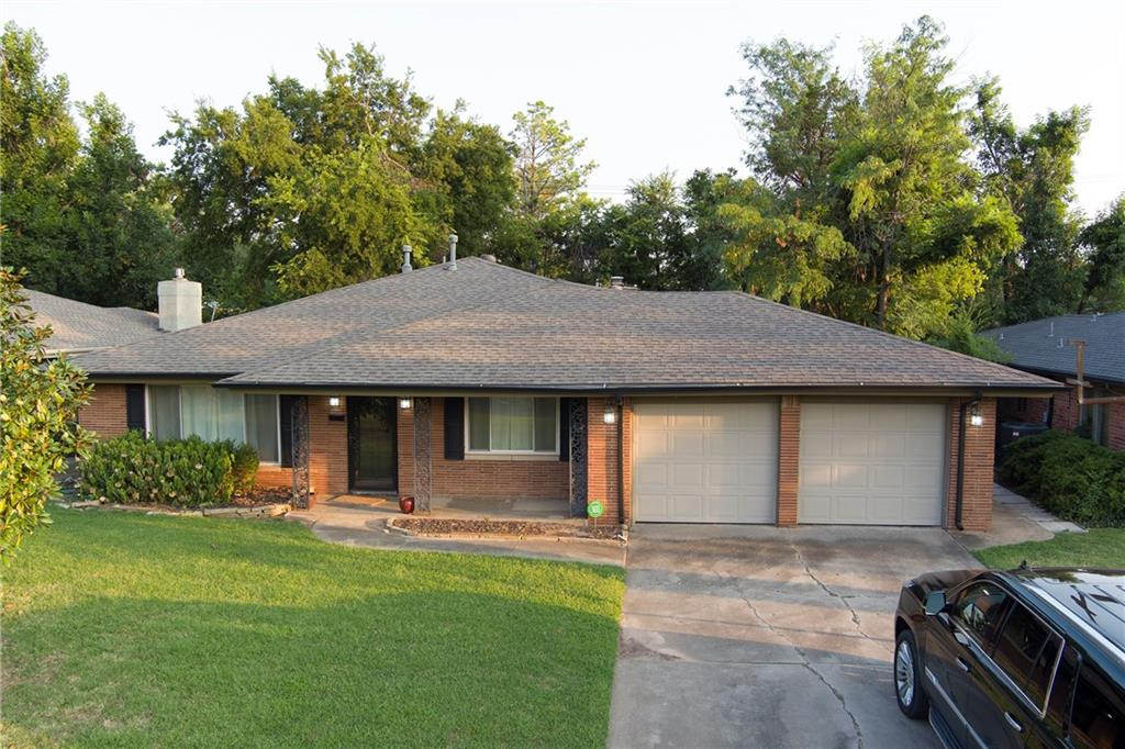 Want to live in Nichols Hills but not pay a fortune? Now you have the opportunity in this charming 3 bed, 2 bath home that has been well maintained. This home has lots of space to go around; including 1 living, 1 den, 1 dinning, large kitchen, huge laundry and much more. This is also a wonderful investment opportunity to rent out or rebuild as many have done.