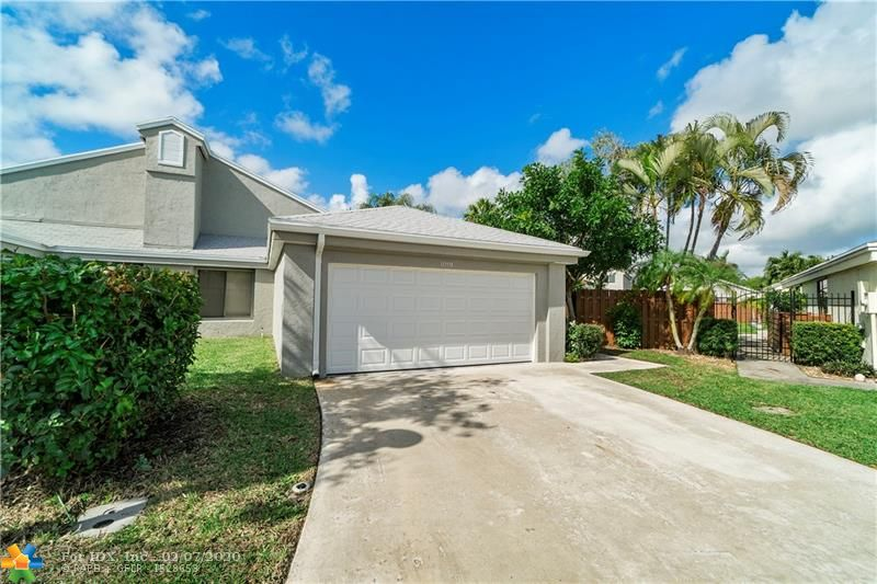 Totally upgraded 2019-2020 3B/2B single-family home 24 Hour manned guard gated community,Brand new roof Jul 2019,Brand new gutter Dec 2019,Brand new AC Oct 2019,Brand new waterheater Dec 2019,Brand new car garage 2020,Brand new procelain floors 2020,Brand new style kitchen & stainless steel appliances & front load washer and dryer 2020.Remodeled 2 bathrooms 2020.Brand new ceiling fans & high end light fixture and design texture ceiling 2020.Screened back patio & large fenced backyard with room for a pool.FRESHLY PAINTED whole house 2020.This home is absolutely move in ready!Community offers resort-style amenities including clubhouse, heated Olympic size pool, kiddie pool, basketball and tennis courts, jacuzzi, sauna, fitness room and kids playground.Cable including 7 HBO Channels and more.