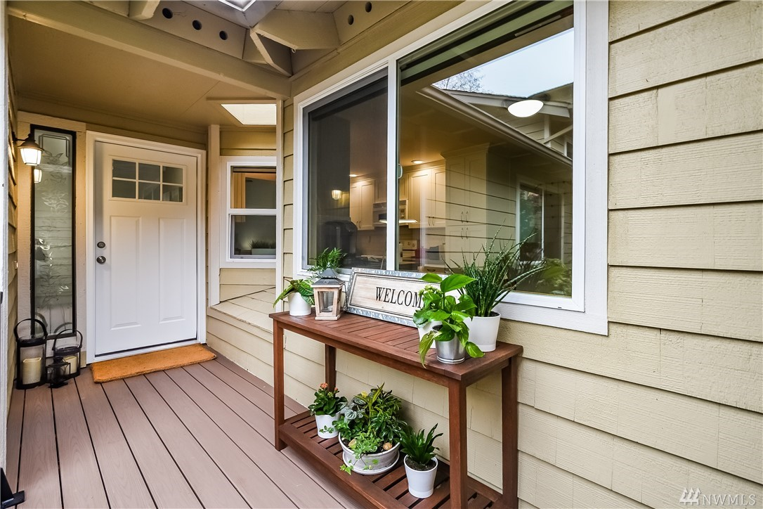 Upgrade your lifestyle at the Sammamish Forest Manors! With over $95k in updates, this 1-level house truly offers enjoyment, comfort & beauty in a quiet & private setting. The NEW high quality kitchen, baths, flooring, Azek deck, vaulted ceilings & exposed wood beams will impress! A/C, extra insulation, soundproofing & vinyl windows will keep you comfortable. Enjoy rare & exclusive community amenities: RV/Boat storage, tennis, pool, park & clubhouse. Near coveted Audubon Elem, MS, shops & lake!