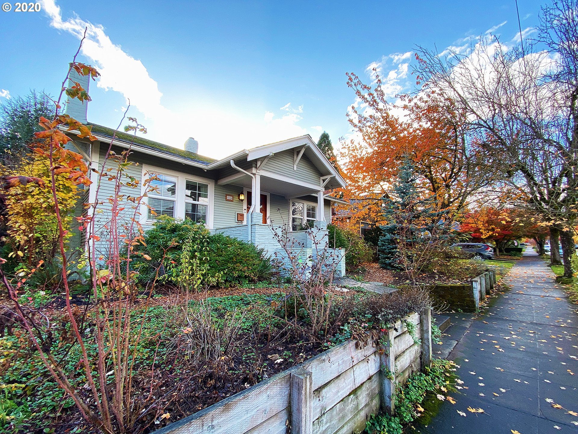 Live in Sellwood for $550,000! Classic Westmoreland craftsman bungalow, on large lot, sits high above the street. Blocks to restaurants, shops & trail/river. Out of the city yet so close! Fireplace with built-ins, large windows, cute breakfast nook in kitchen, gas range. Large, private backyard with fruit trees, sunny area & large covered deck- Certified backyard habitat. Finished basement has non-conforming bedroom with walk-in closet plus family room. Newer furnace. Garage as is. See 3D tour!