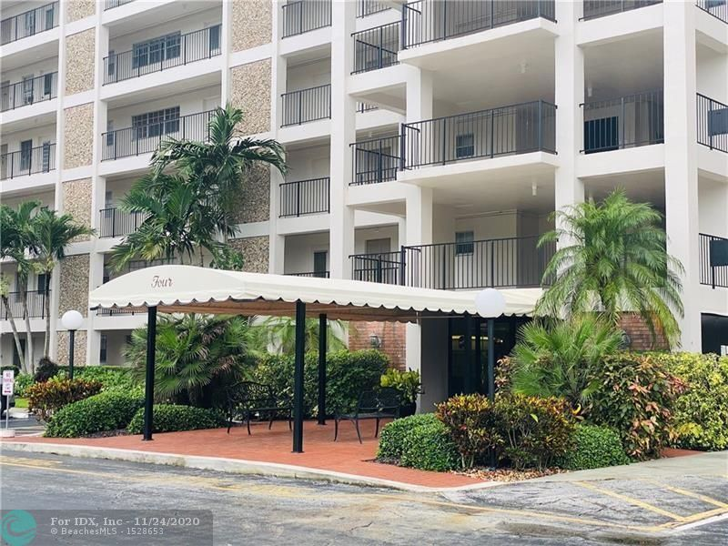 3 bedroom / 2 bath - Top floor, Southeast facing CORNER unit.  This is a diamond in the ruff, priced to sell, original condition with enclosed patio, designer ready!  Across the street to the Isle Casino, a short drive to the sand of Pompano Beach, and only 20 minutes to the airport and cruise ship port. Per mycondoplans.com certified by Broward County the sq ft for this stack is 1,500