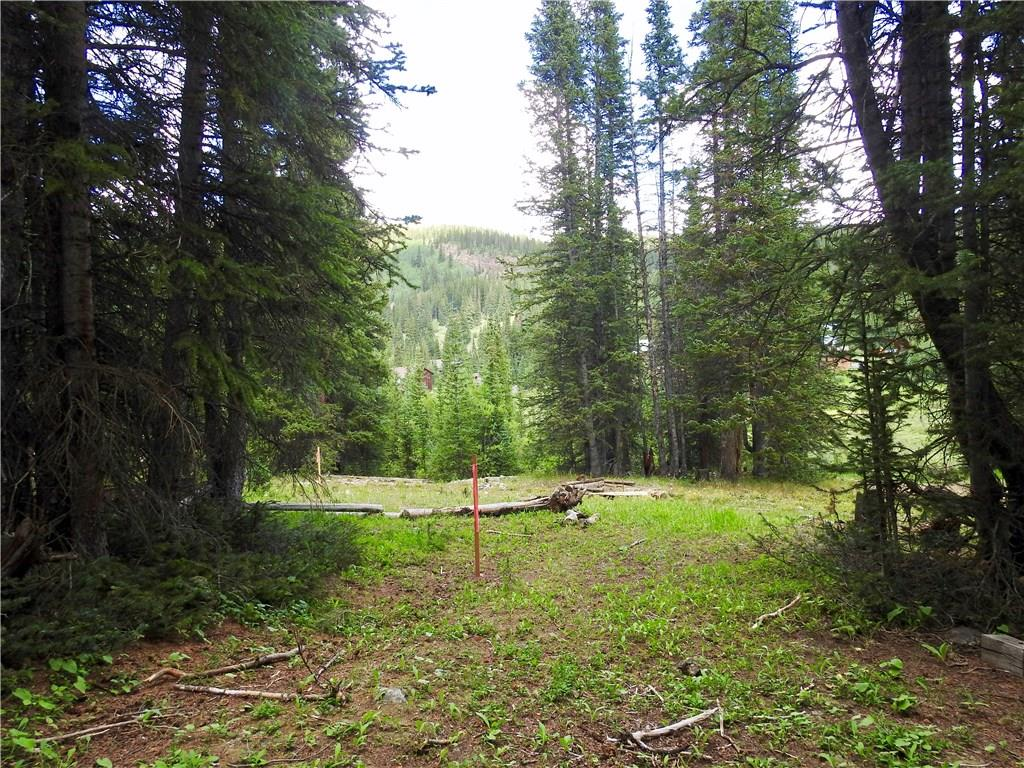 Trees, sun, views, a flat building spot..this half acre lot just outside Breck has it all!