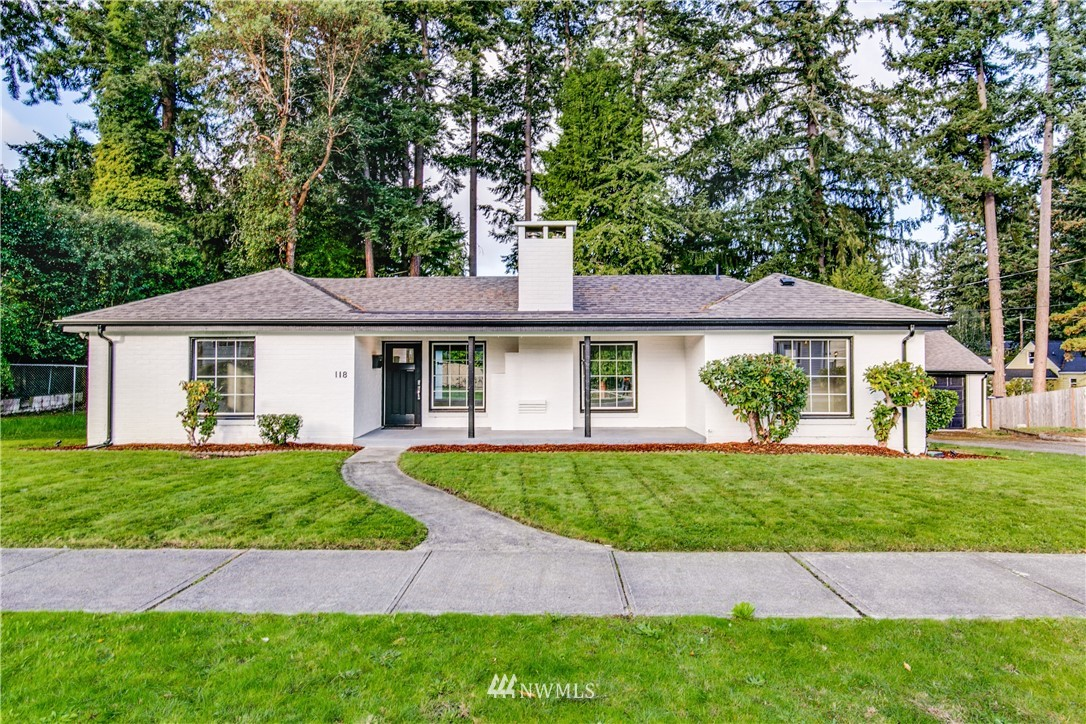 Beautifuly remodeled Brick Rambler on double size lot in sought after Fircrest! Plenty of space for RV/Boat on the 13,750 sqft lot! Refinished oak hardwoods. Kitchen has new cabinets, quartz counters, stainless appliances & tile backsplash. Formal dining room. 3 spacious bedrooms, full bath, & gorgeous 5 piece bath w/dual sinks, quartz counters & glass shower! Large unfinished basement has potential! New plumbing/furnace/tankless water heater/roof/plumbing! 2 car Brick garage. Close to HWY 16/I5