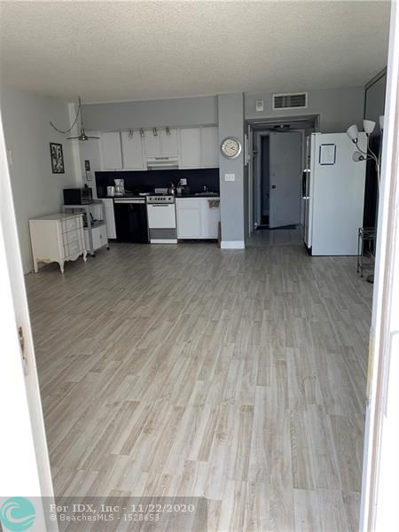 """A rarely available studio in The Seasons condo! This is a great opportunity for investors, you can lease immediately and up to 3x a year, great for seasonal rentals. The unit features impact sliding glass doors as well as an updated bathroom and is directly adjacent to the onsite laundry facility. As you walk out of the lobby doors you are welcomed by the fresh sea breeze, stepping directly onto Fort Lauderdale Beach. This condo not only welcomes dogs but loves them as well, recently adding an indoor """"doggy playground"""". Everything you could want inside of a well cared for building."""