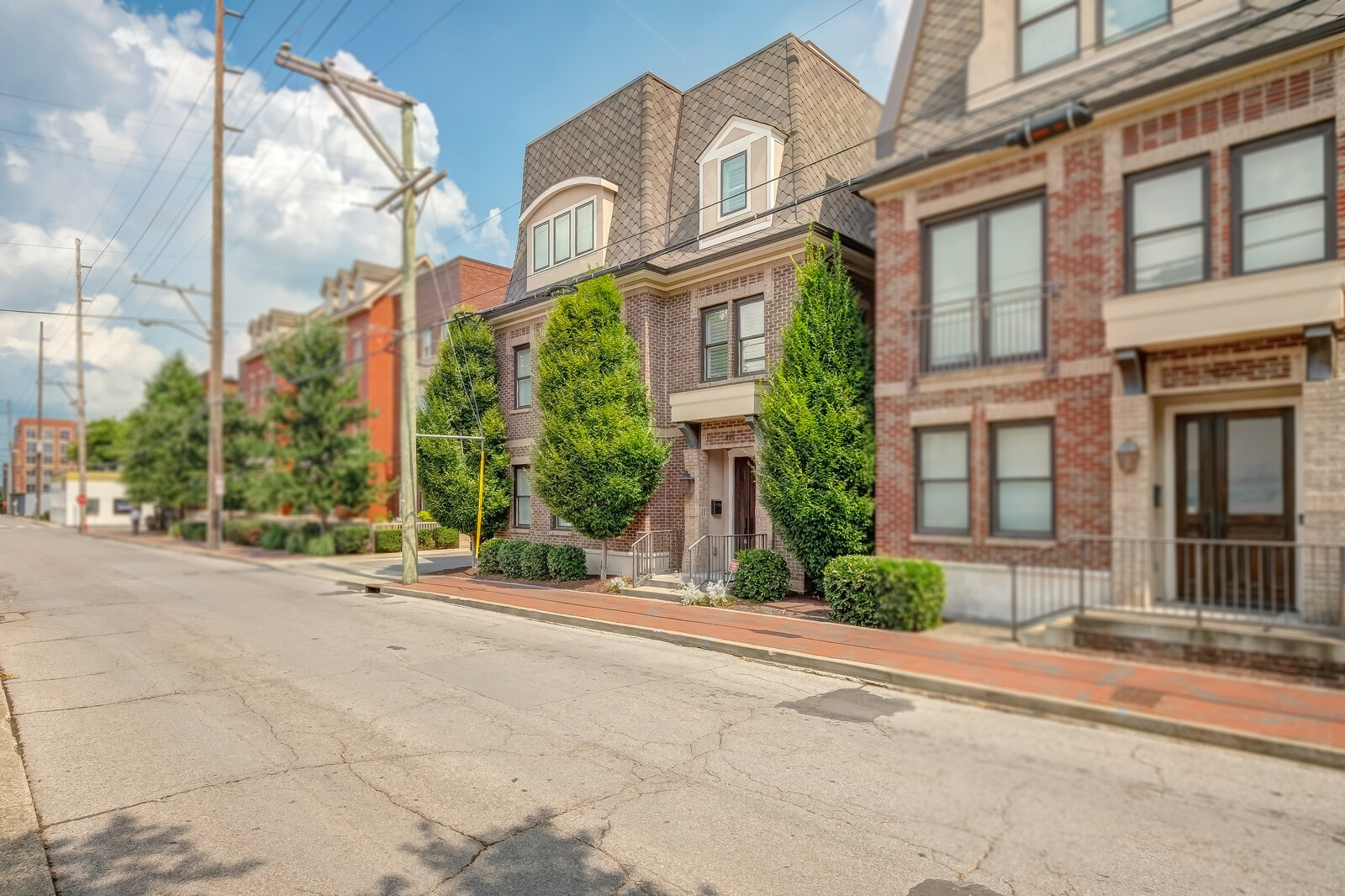 Luxury Townhome in heart of Germantown. Walk to sounds stadium, and downtown. 4 beds, 3.1 baths, concrete floors on the first level, hardwood floors throughout rest of home. high end finishes in every room. 360 views of the city from the rooftop patio, with full outdoor kitchen. Steam showers in master bath, custom built walk-in closet. Custom Hammered sinks in multiple rooms.