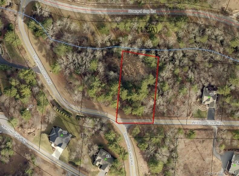 Beautiful .66 acre lot located in Solomons Cove. Natural setting with common area stream. City Water/Utilities available. Expired 3 bdrm Septic permit. Convenient location - Close to Downtown Historic Hendersonville.